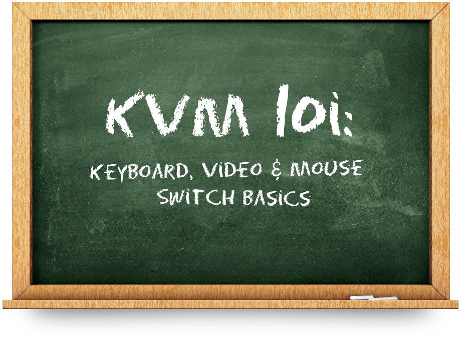 KVM swith 101