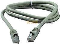 Standard CATx cable with standard RJ45 connectors