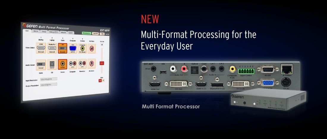 Multi-Format Processor