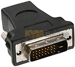 DVI male connector