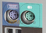 PS/2 female connectors