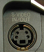 S-Video female connector