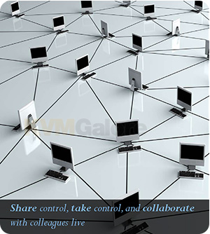 Share, control and collaborate | Video over IP